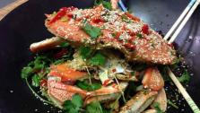 Wok Tossed Chili Crab