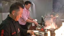 Chef Martin Yan Prepares Asian-Inspired Dishes