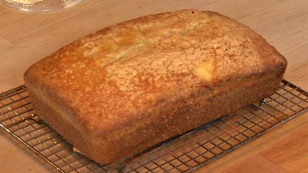 Sour Cream Pound Cake Recipe Food Rush The Live Well Network