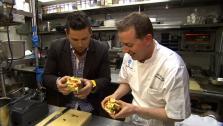 Ryan Scott Gets Taste of Top Restaurants in NYC