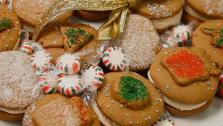 Gran Keers Uber Gingerbread Sandwich Cookies