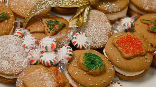 Gran Keer's Uber Gingerbread Sandwich Cookies