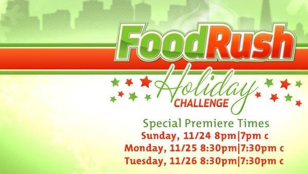 Food Rush: Holiday Challenge