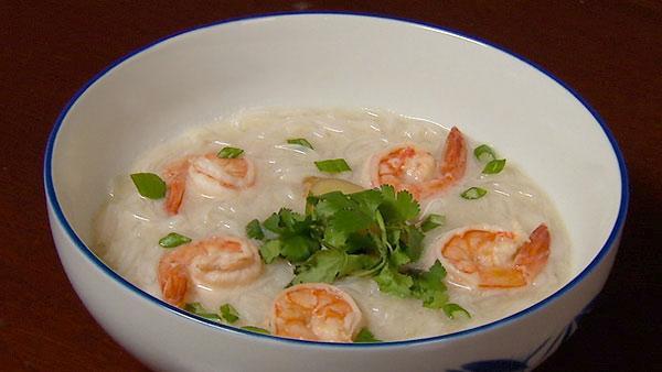 Ginger Lemongrass Coconut Soup