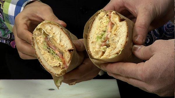Ike's Double Dirty Sandwich