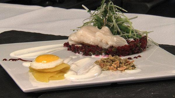 Red Beet Tartare with Seared Tuna | The Live Well Network