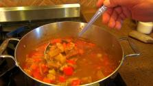 Hearty German Goulash Soup
