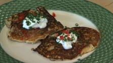 Spicy Sausage Corn Cakes