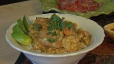 Chicken Thigh and Cauliflower Curry