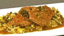 Oak Crusted Pork Schnitzel