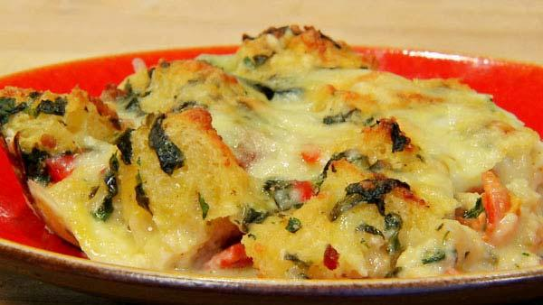 Hearty Breakfast Strata