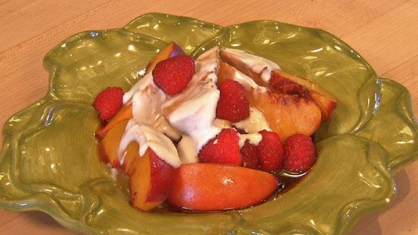 Summer Fruits Steeped in Sugar