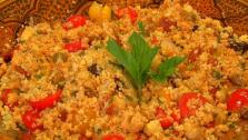 Warm Moroccan Couscous Salad