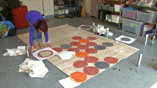 Charming Fun With Rugs: Get Rid Of Your Boring Floor. Lisa Quinn Creates Fun And Unique  Rugs With Vecco. Watch Segment