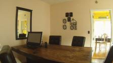 Dining Room Functions as Home Office