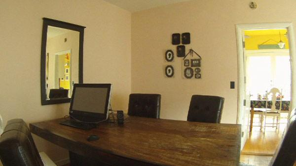 Dining Room Functions as Home Office. Dining Room Functions as Home Office   The Live Well Network