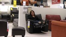 Shopping for a Sofa and Recliner