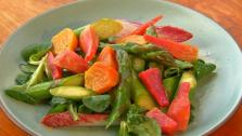 Asparagus and Beets with Meyer Lemon Vinaigrette
