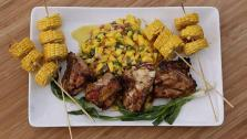 Honey Jerk Chicken and Mango Salsa