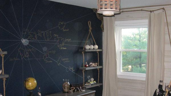 DIY Wall Mural Knock It Off The Live Well Network