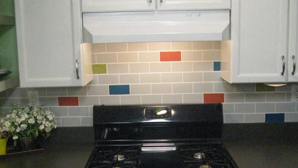 diy subway tile backsplash knock it off the live well network