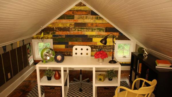 Attic Space Makeover Knock It Off The Live Well Network