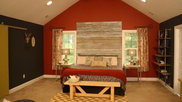 Rustic Master Bedroom Makeover Knock It Off The Live Well Network