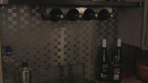 stainless steel backsplash knock it off the live well