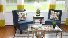 Hand-Me-Down Living Room Makeover
