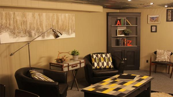 70s Basement To Swanky Man Cave Knock It Off The Live