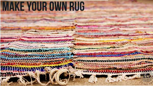 Diy Large Area Rug Knock It Off The Live Well Network