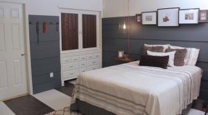 Rustic Western Lodge Master Bedroom