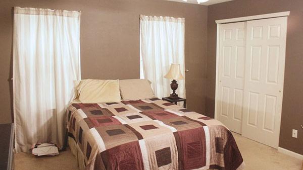 Designers Make a Plan for Lodge-Inspired Bedroom