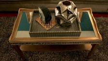 DIY Elegant Mirrored Coffee Table