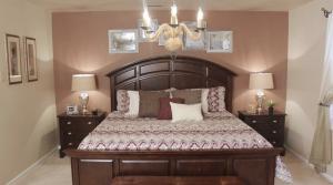 Rustic Romantic Master Bedroom Makeover