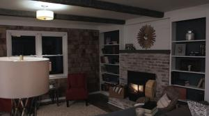 New England Style Great Room Makeover