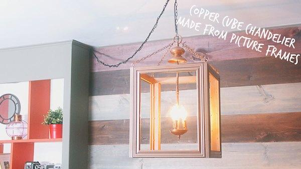 Diy lantern chandelier knock it off the live well network diy lantern chandelier mozeypictures Images