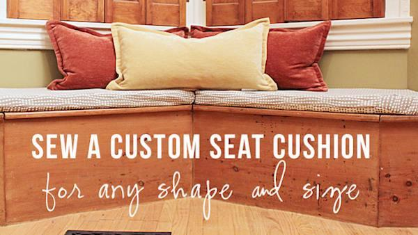 Diy Custom Bench Seat Cushion