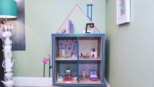 DIY Dollhouse from Cube Shelf Unit