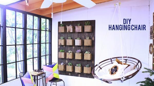 DIY Urban Hanging Chair