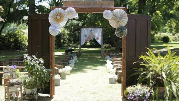 Diy Rustic Vintage Wedding Knock It Off The Live