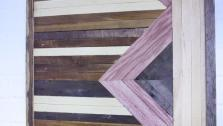 DIY Reclaimed Wood Art
