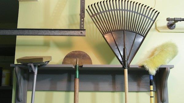 DIY Hanging Tool Rack