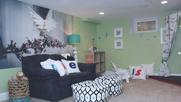 Diy Wall Murals diy wall mural | knock it off! | the live well network