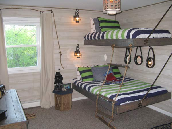 Before And After Photos: Boyu0027s Pirate Themed Bedroom