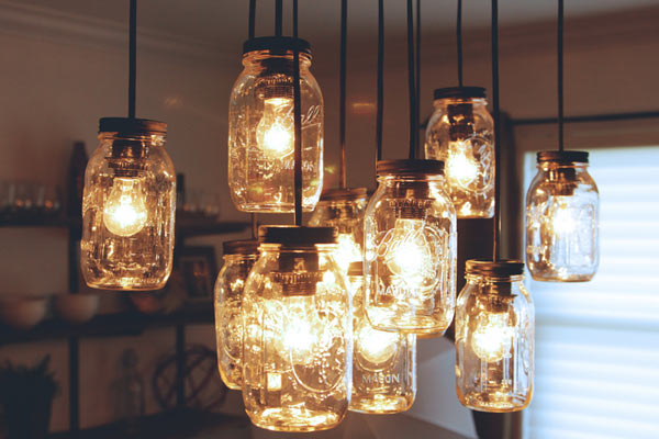 Photos DIY Mason Jar Chandelier Knock It Off The Live Well Network