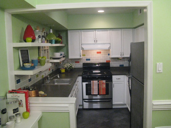 Galley Kitchen Before And After photos: galley kitchen makeover | knock it off! | the live well
