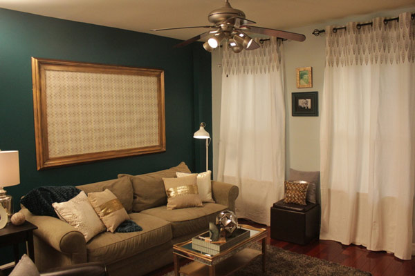 Mike and Colleen loved their new space which...