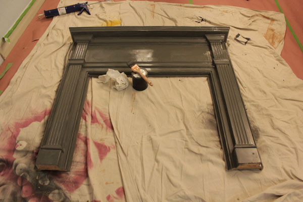 Photos Diy Faux Fireplace Knock It Off The Live Well