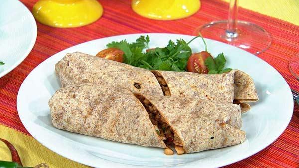 Tempeh Burrito Filling